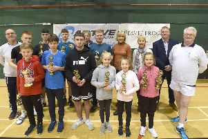 Warton Juniors Badminton Club celebrated a special anniversary