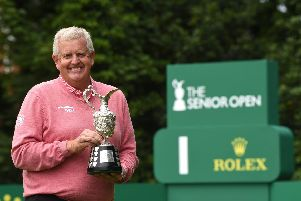 The Senior Open is a title Colin Montgomerie is yet to win