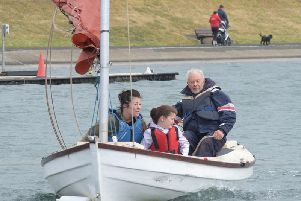 Fun on Fairhaven Lake at the recent activity open day