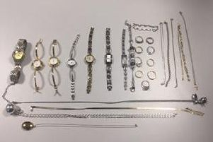 This jewellery was seized after a man was arrested for burglary offences in the Lytham area on Sunday, June 23