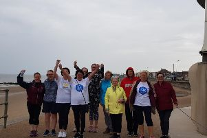 WeightWatchers members in Blackpool and Fylde took part in the annual #WW5kMyWay challenge, walking along Cleveleys sea front