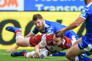 Liam Marshall has scored five tries in his last two games