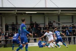 AFC Fylde welcome Preston to Mill Farm on Saturday after defeating Wigan Athletic on Tuesday   Picture: STEVE MCLELLAN
