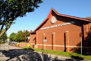 Ashfield District Council, on Urban Road, Kirkby.