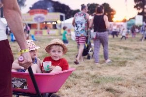 Kids ready for action at Deer Shed Festival (PIC: Courtesy of Deer Shed)