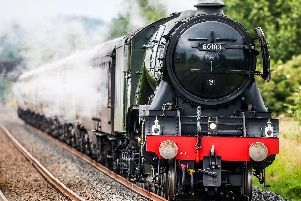 The Flying Scotsman near Clitheroe