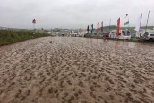Torrential rain left up to six inches of mud at the Y not festival.