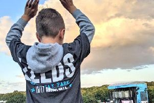 Ed Sheeran fans were treated to a break in the clouds for the singer's second of two gigs at Roundhay Park on Saturday night. Picture: Kate Josephs