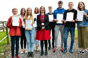 A quarter of all the GCSEs gained by pupils at Benton Park School were grade 7 or above