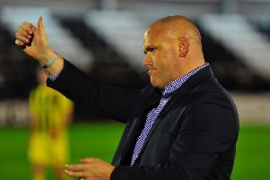 """Jim Bentley hailed the """"positive environment"""" at AFC Fylde"""