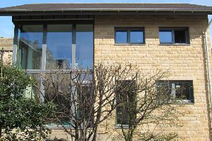 An example of a house built to the Passivhaus standard.