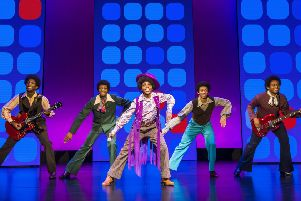 Motown The Musical. Photo by Tristram Kenton.