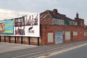 The brownfield site which includes the former Carr Mill Cafe has stood empty for decades,