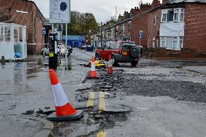 Floods caused destruction and damage across the region to roads, homes and businesses.