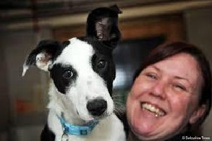 Steph McCawley, supporter engagement officer at Chesterfield and North Derbyshire branch of the RSPCA.