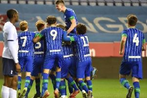 Jensen Weir is the hero after opening the scoring for Latics