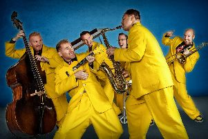 The Jive Aces at Chesterfield Winding Wheel on January 31.