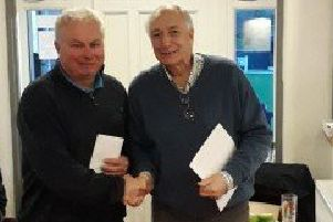 Chris Mordue won the final Spen Winter Sweep qualifying competition as he defeated Joe Cranston in last Saturday's final and both men will be vying to claim the Geoff Brough Trophy at this week's finals day.
