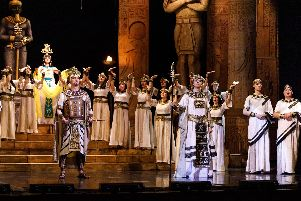 Aida will be presented by the Russian State Opera at Chesterfield's Pomegranate Theatre and Buxton Opera House.