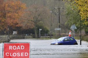 Recent flooding in Derbyshire has been caused by climate change, say the pension fund campaigners.