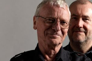 Billy MItchell and Bob Fox are playing at Chesterfield Library on March 20, 2020.