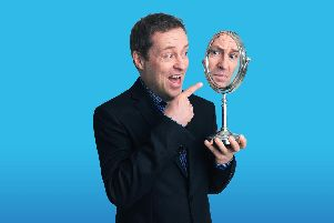 Ardal O'Hanlon. Photo by Mark Nixon.
