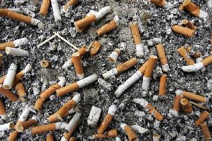 Dropped cigarette butts are still the most common form of littering in the country (Image: Getty)