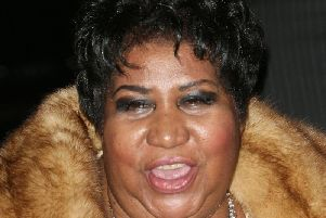 Soul singer Franklin has died at her home in Detroit, her publicist has said. PIC: Ian West/PA Wire