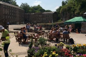 The restored Building 17 at the Cromford Mills complex is in the running for two Historic England Angel Awards, one of which will be decided by public vote.