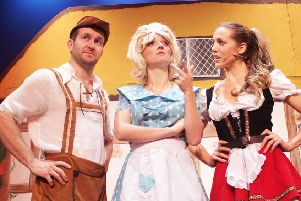 The Adult Panto: Hansel & Gretel Go Down in the Woods at the Pomegranate Theatre, Chesterfield, on February 8.