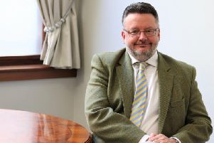 Derbyshire County Council leader Barry Lewis