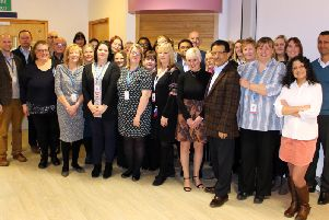The ELCAS team at Burnley General Hospital