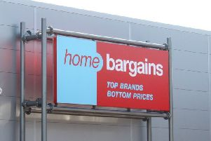Pictured is a Home Bargains store.