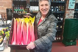 The rhubarb is calling Karen to the festival of food and drink in Wakefield this weekend.