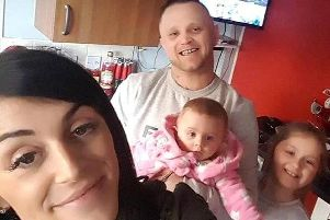 Lee Marshall and family.