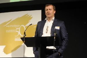 The Fastest 50 awards at Aspire, Leeds.Richard Hughes .22nd March 2019.Picture by Simon Hulme