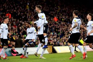 Mason Mount wants Derby to stay full of confidence. (Photo by Stephen Pond/Getty Images)