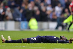 Fikayo Tomori knows Derby need to bounce back on Saturday.  (Photo by Richard Heathcote/Getty Images)