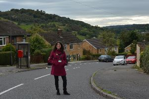The Ministry of Housing, Communities and Local Government has awarded �25,000 for renovations at Spider Park on the Hurst Farm estate in Matlock. Pictured is estate regeneration manager Marie Schmidt.