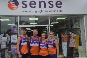 Bradley, Peter, Louise and Charlotte Mowbray are running for Sense