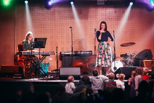 STAGE: Made With Music has performed at various venues, from traditional stages at The Brudenell to the wards of the Oncology Unit.