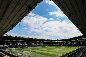 Pride Park (Photo by Andrew Kearns - CameraSport via Getty Images)