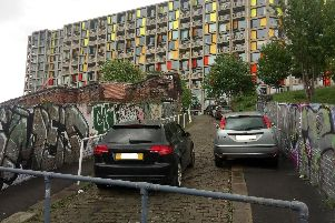 Is this the best parking ever seen in Sheffield?