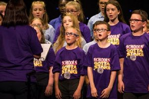 Chesterfield's Gotta Sing is at the Pomegranate Theatre, Chesterfield, on June 5 and 6, 2019.
