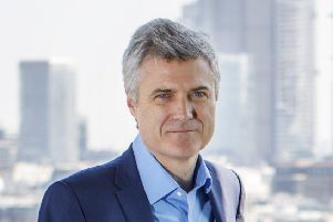 Mark Read, Chief Operating Officer of WPP and Wunderman is photographed at WPP offices in London on April 20, 2018.