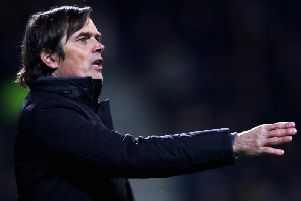 Phillip Cocu oversaw a 5-2 win on Saturday.