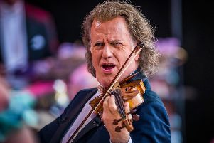 Andre Rieu. Photo copyright Andre Rieu Productions . Piece of Magic Ents