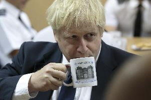 Boris at HMP Leeds - Getty