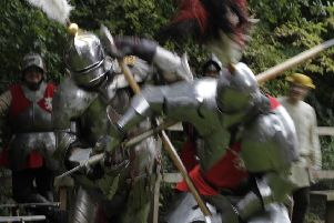 Knightsd in Battle re-enactment society.