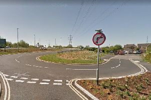 Motorists leaving the McDonald's drive-thru should not turn right to access the Hadrian Road estate